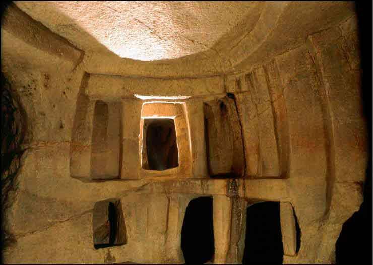 Строительные работы, открыли потеряный подземный город