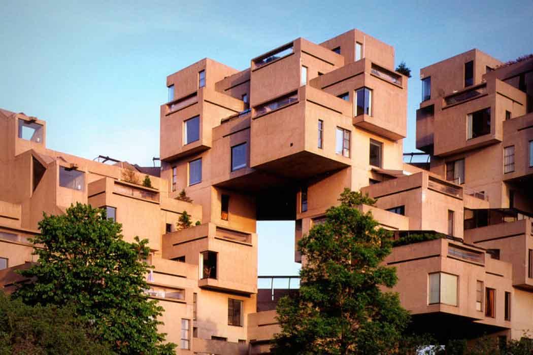 Дженга архитектура Монреаля.
