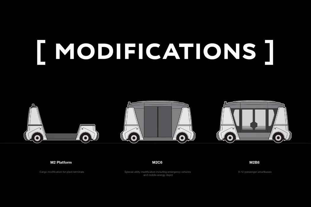 Модульный Автомобиль из будущего