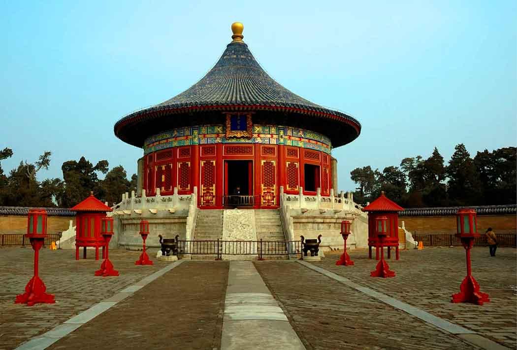 Храм неба. Древний Китай