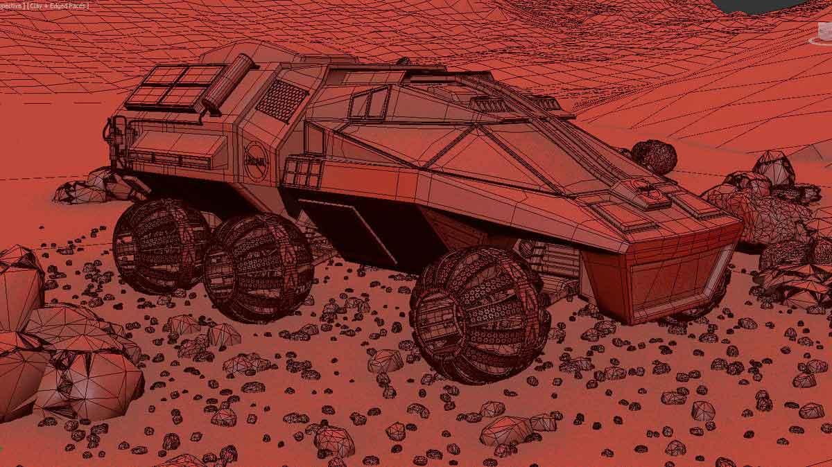 Марсоход - концепт от NASA