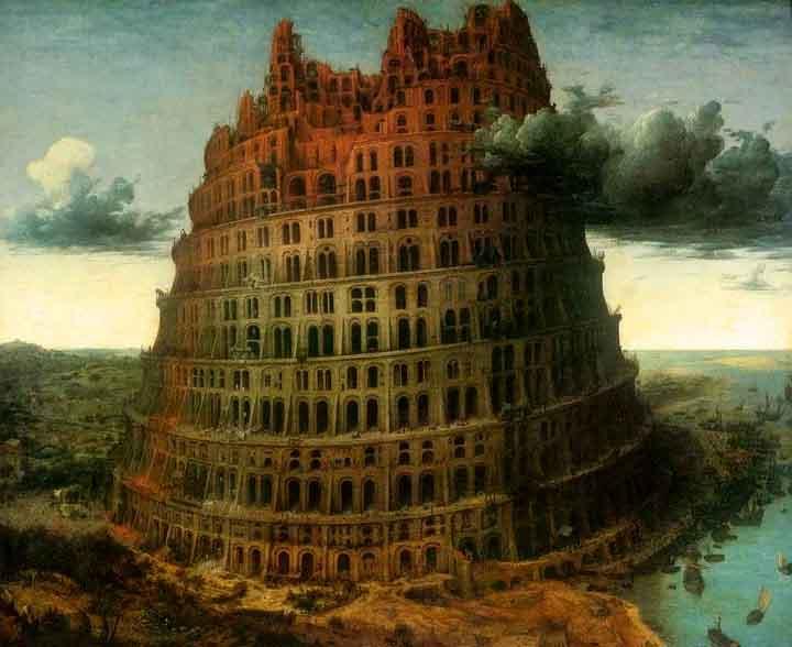 Вавилонская башня, описанная в Библии, действительно существовала на Земле.