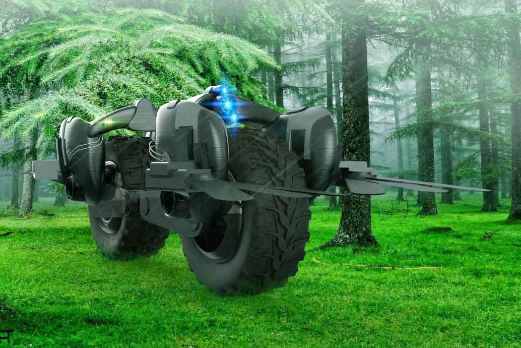 Трактор-трансформер