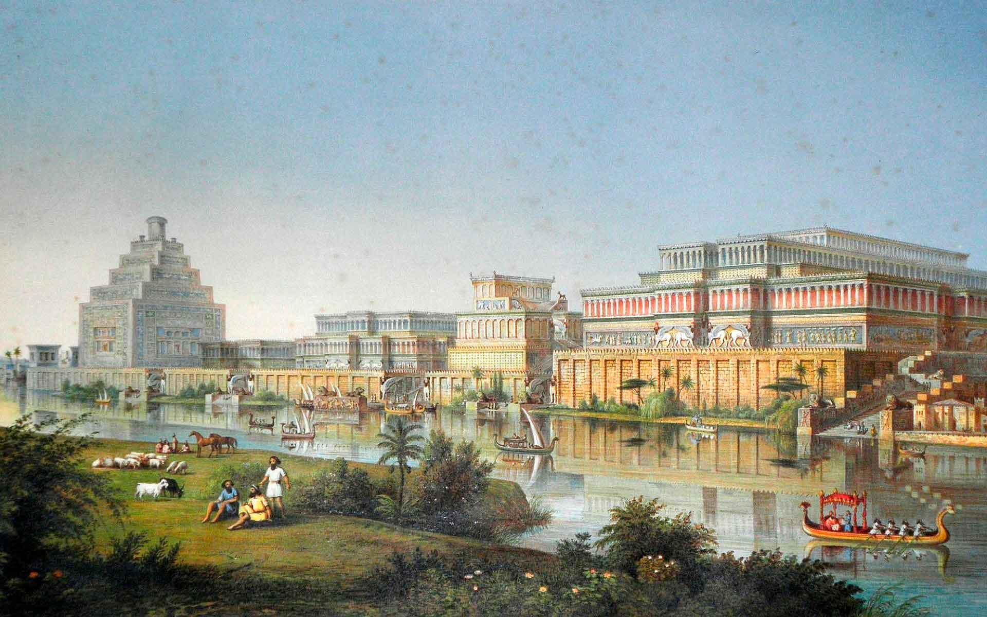 Висячие сады Семирамиды. Великие легенды Вавилона