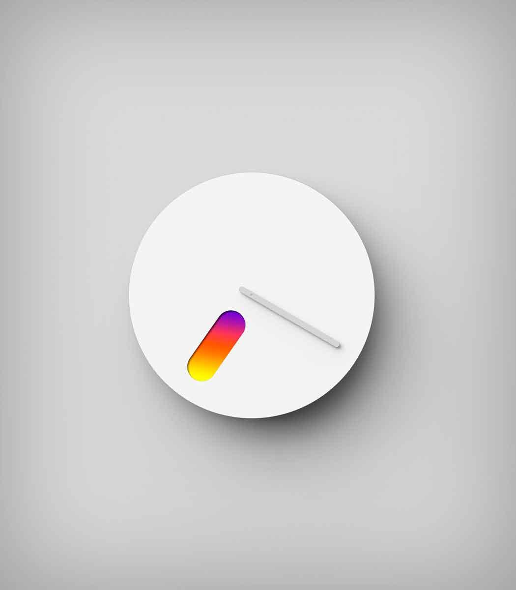 Какого цвета сейчас время?