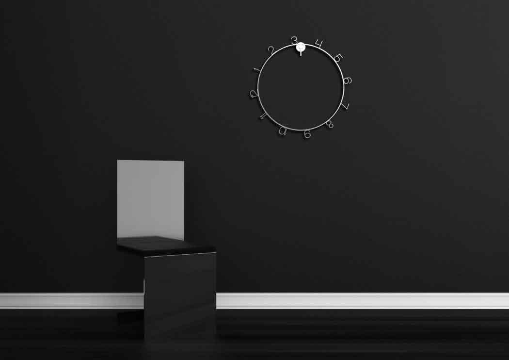 Дизайн часов с эстетическим минимализмом.