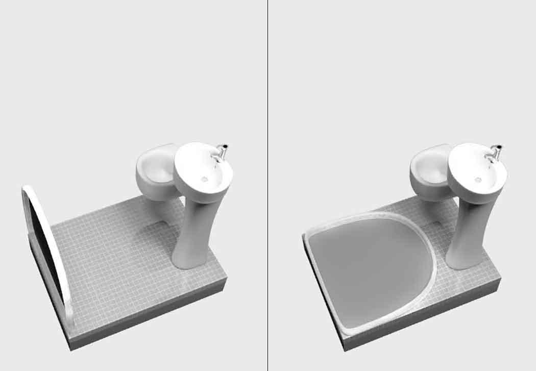 Как сделать душевую в маленькой ванной.