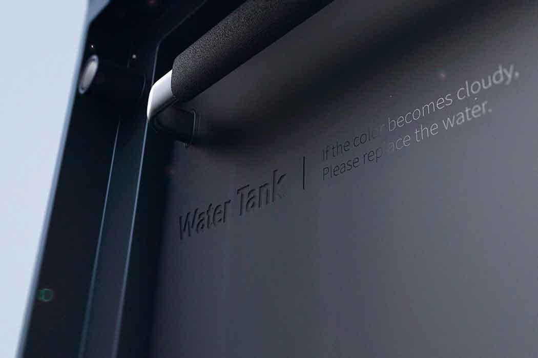 Очистка воздуха с помощью водного занавеса