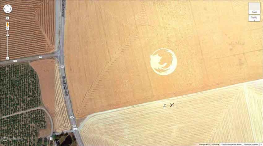 Артефакты, видимые только с высоты птичьего полета. Геоглифы.