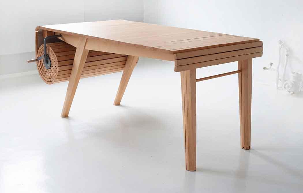 Деревянный стол который можно сворачивать