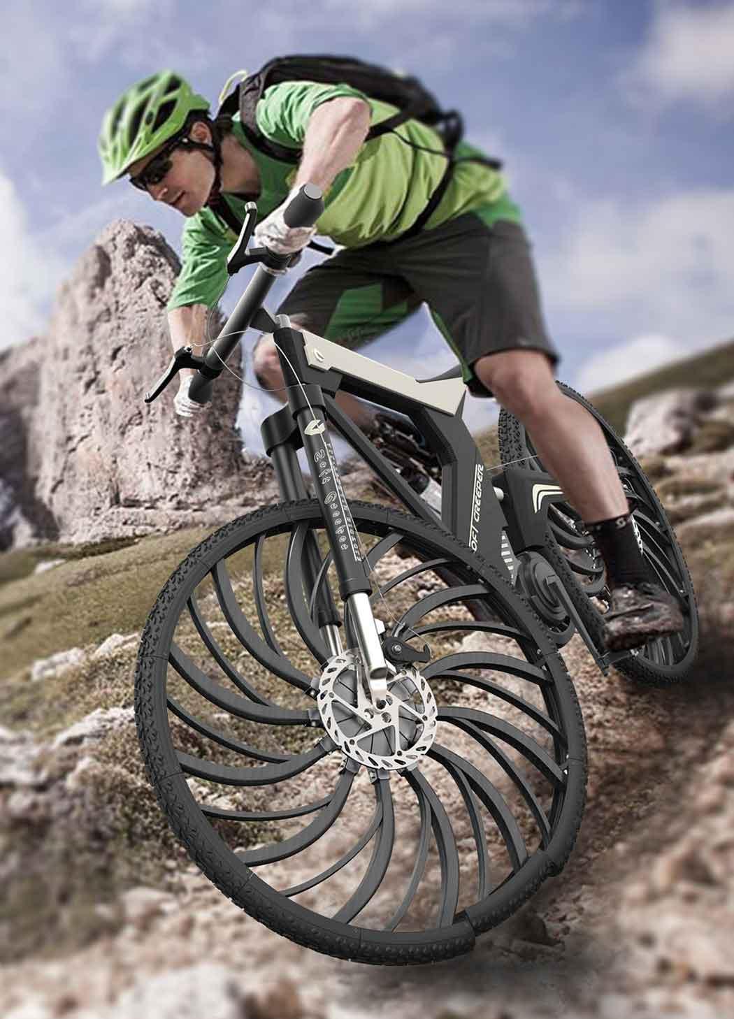 Новые  велосипедные диски поглощающие удары.