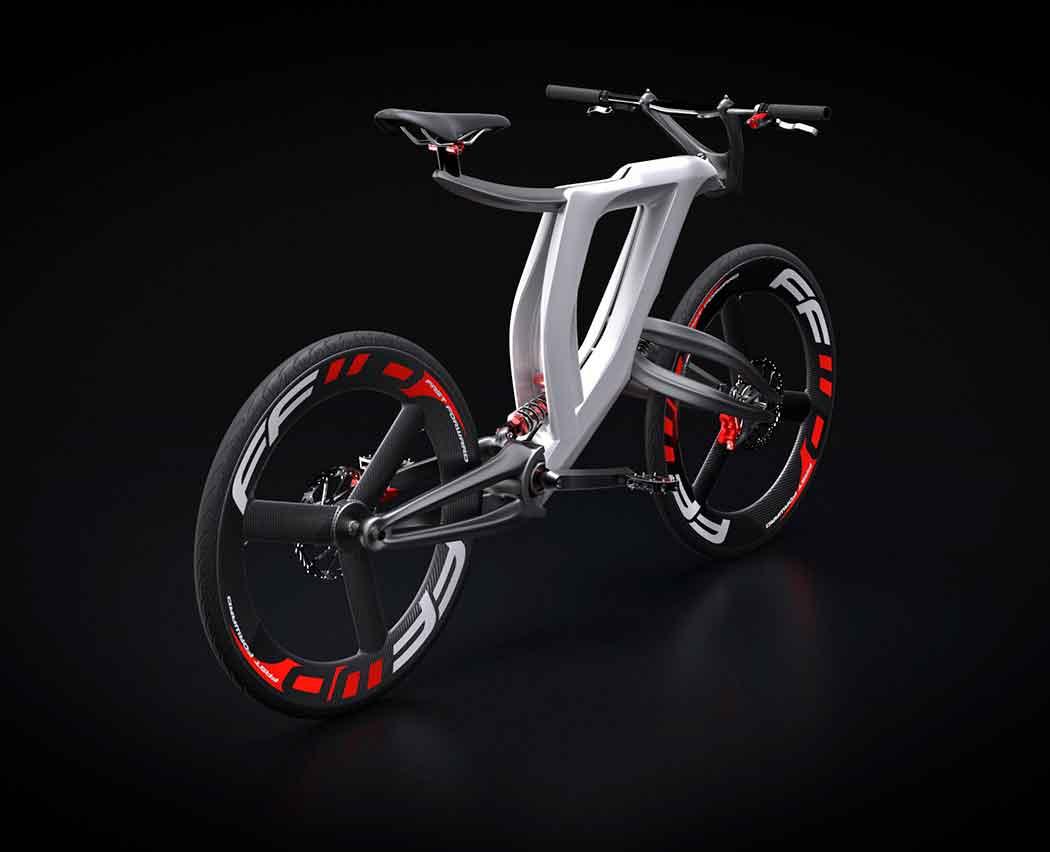 Концепт велосипеда из недалекого будущего