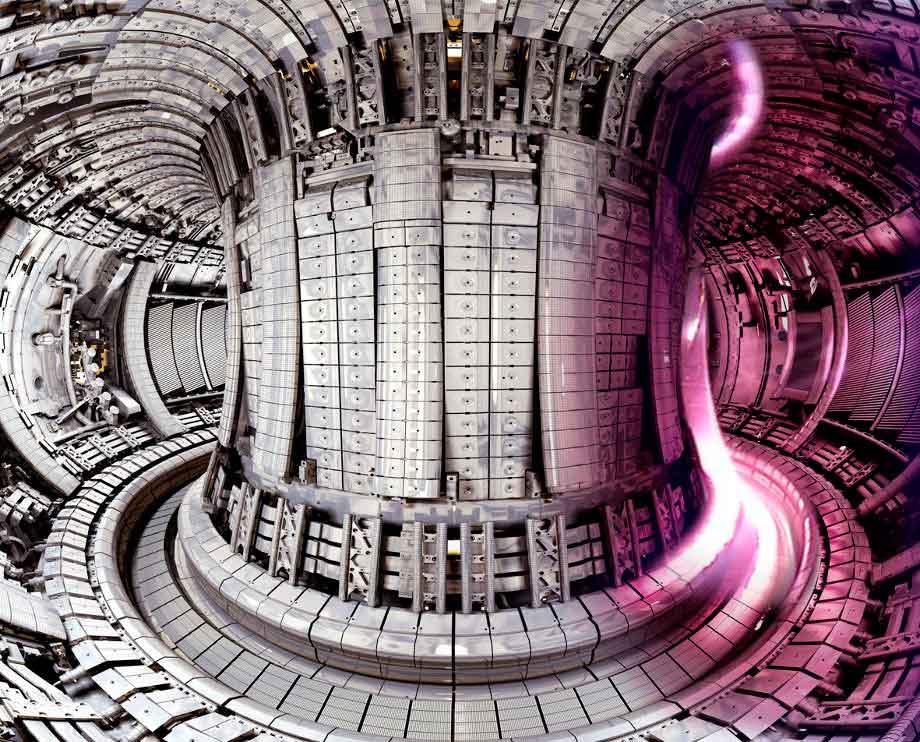 Камера Европейского экспериментального термоядерного реактора JET в Оксфорде, 2010 год. Источник: CCFE / JET