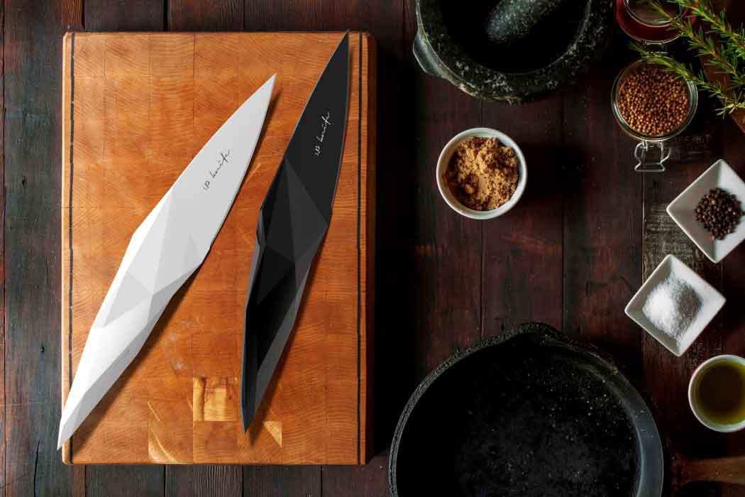 Доисторический дизайн ножей