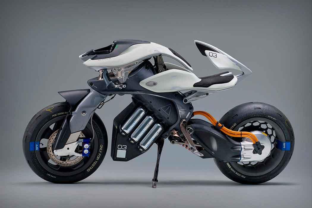 Yamaha создали мотоцикл с Искусственным интеллектом