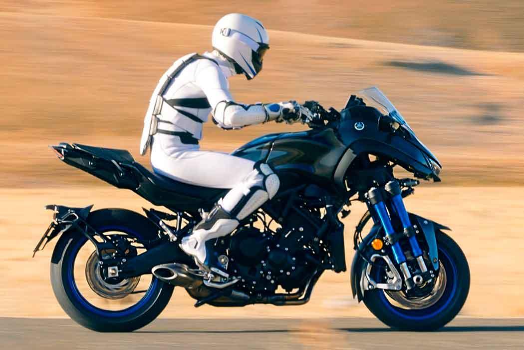 Трехколесный байк от Yamaha