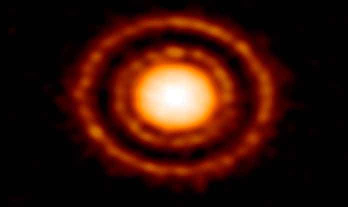 Протопланетный диск AS 209