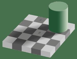 Адельсонская проверка-теневая иллюзия