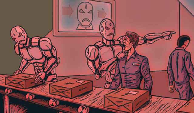 Роботизация приведет к безработице.