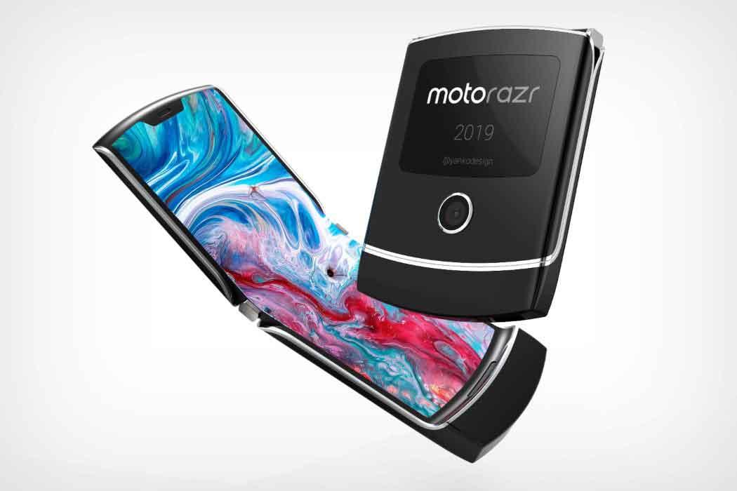 Подробности как будет выглядеть новый смартфон от Motorola.