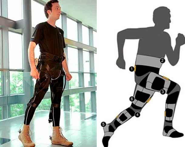 роботизированный экзокостюм
