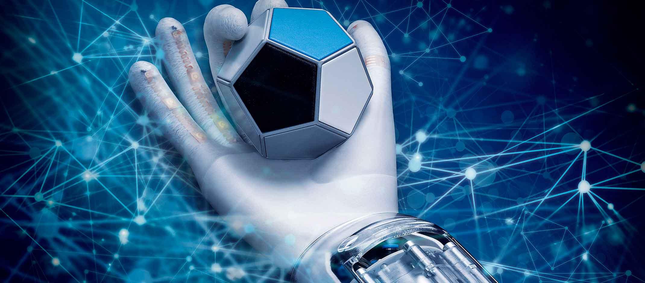 Роботизированная рука способная к самообучению