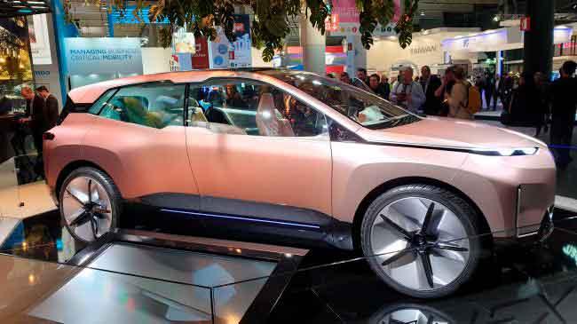 Natural Interaction будет установлен на BMW iNext, который планируют выпустить в 2021. Image credit: TechRadar