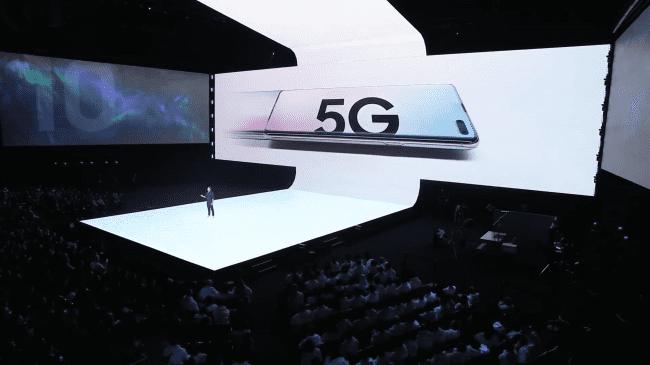 Samsung поспешил выпустить 5G-версию своего S10.