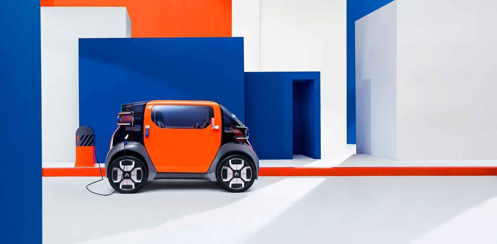 Citroën разработал концепт компактного автомобиля
