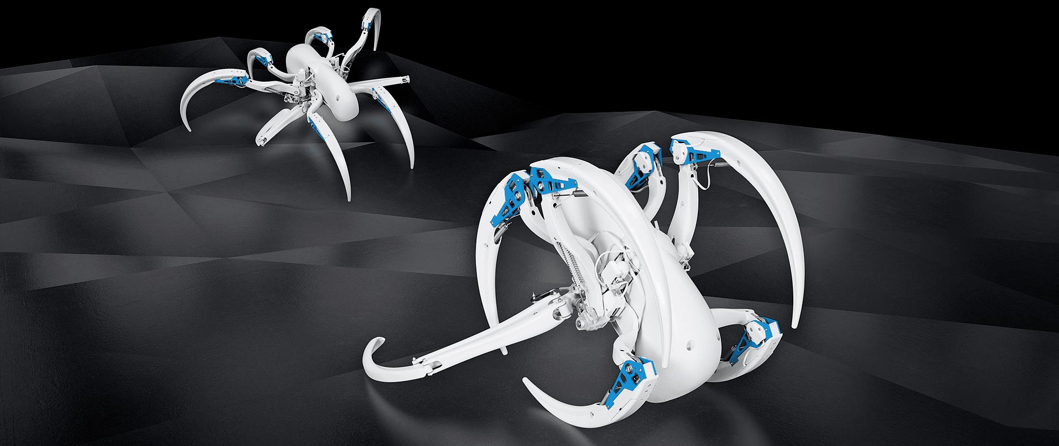 Бионический робот-колесо (BionicWheelBot)
