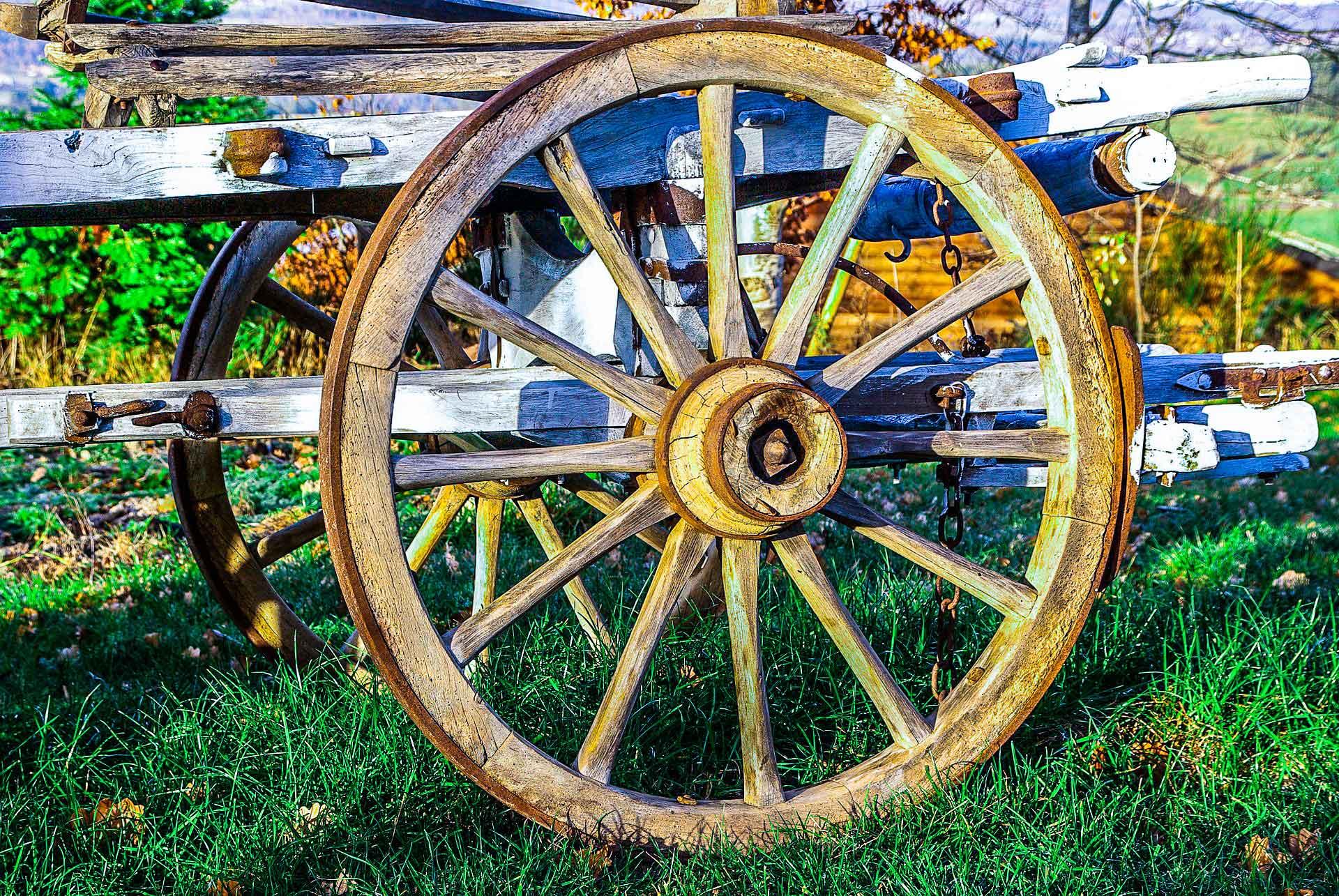 Как было изобретено колесо?