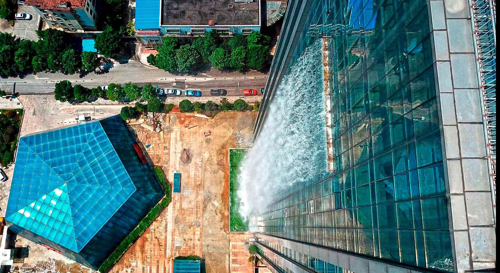 Строение водопада