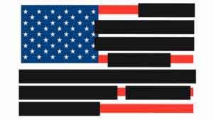 Изображение Redacted US Flag.