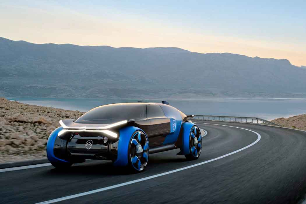 Citroen представила автономный концепт-кар
