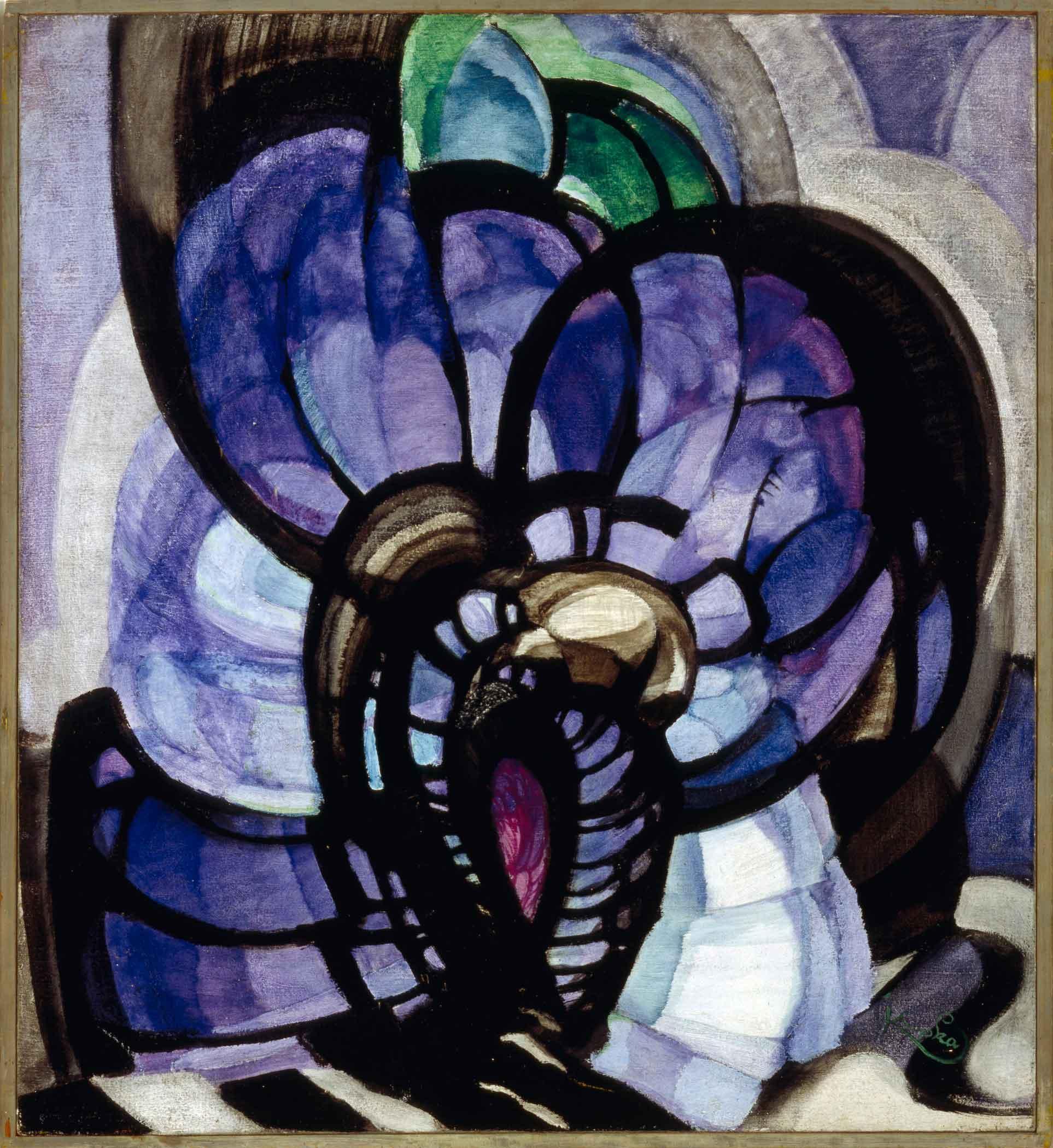 Ф. Купка. Линии, плоскости, глубина. 1920-1922