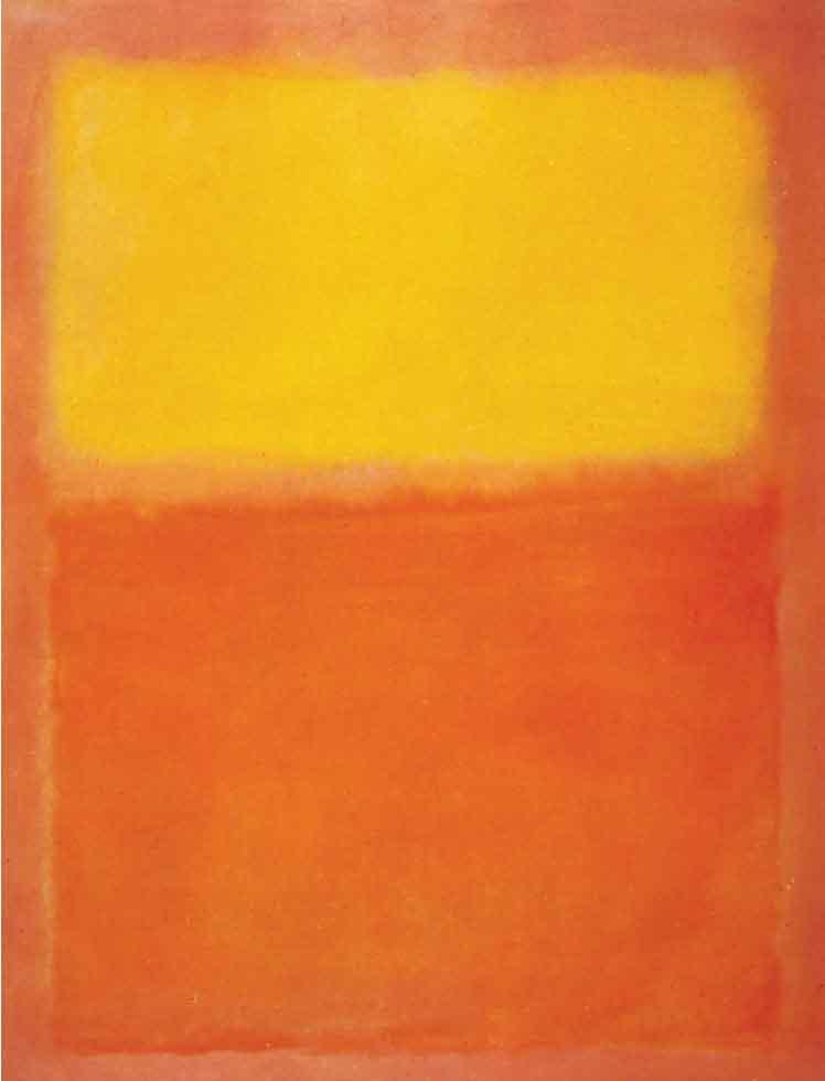 М. Ротко. Оранжево-желтое. 1956
