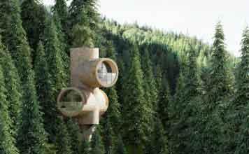 модульный дом Bert от фирмы precht