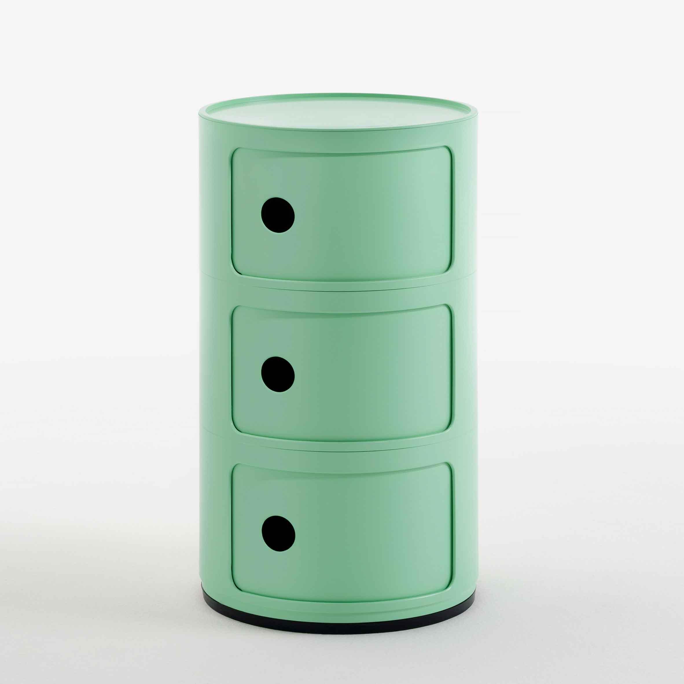 componibili из биопластика зеленого цвета