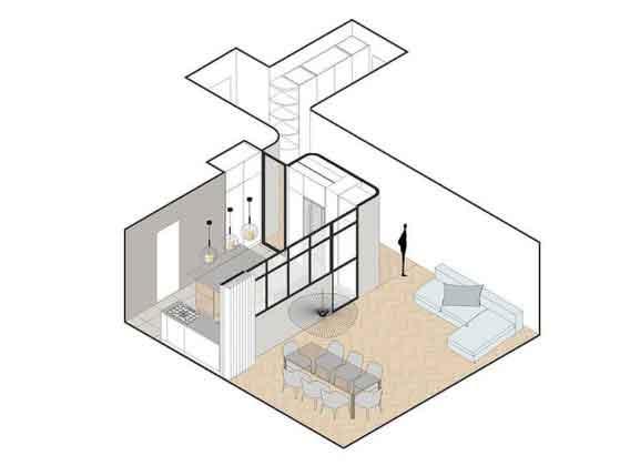 План апартаментов Plus Ultra DMC