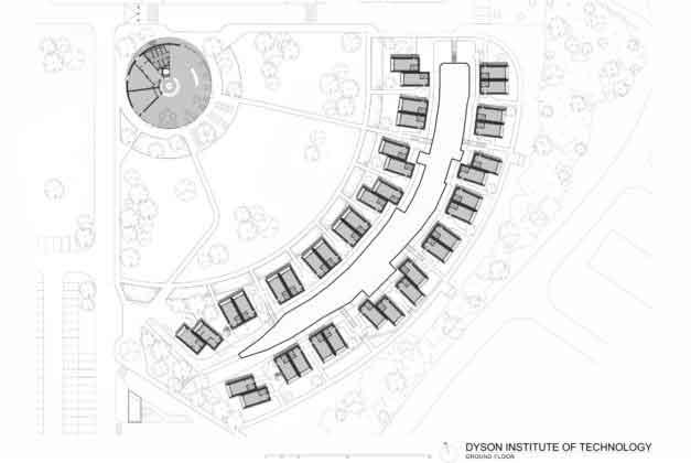 план модульного общежития