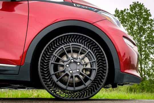 Безвоздушные шины для легковых авто