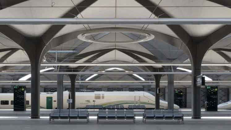 Станция в Саудовской Аравии от Foster+Partners