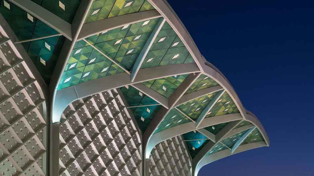 Крыша ж/д станции от Foster+Partners