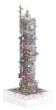 Башня аквапарка