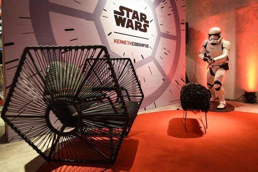 Мебель «Звездные войны» от дизайнера Кеннета Кобонпью