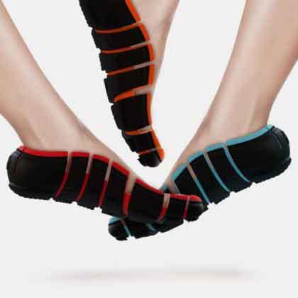 сверхлегкие шлепки-кроссовки flip-shoes