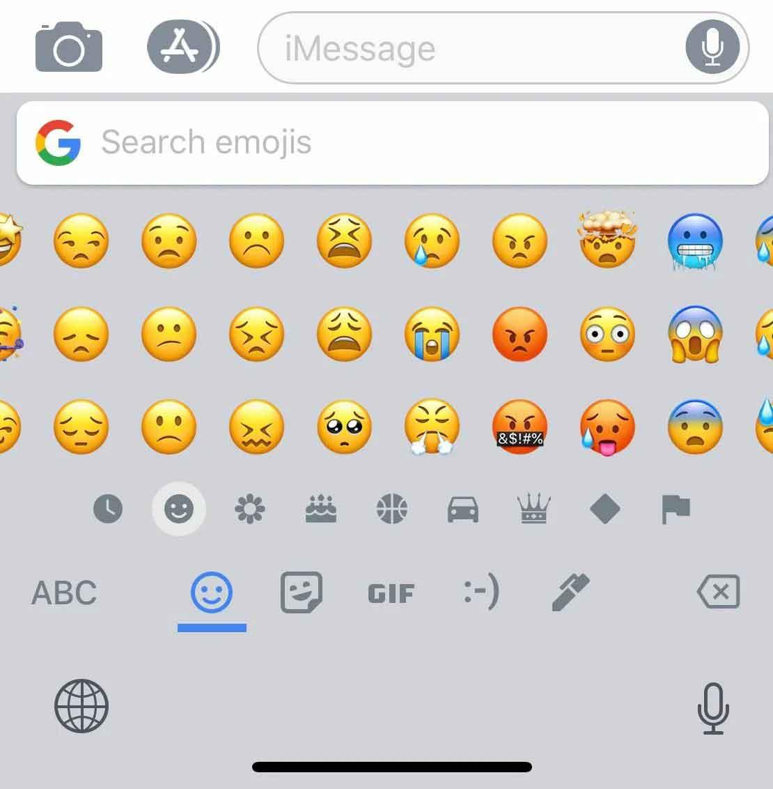 Клавиатура Emoji