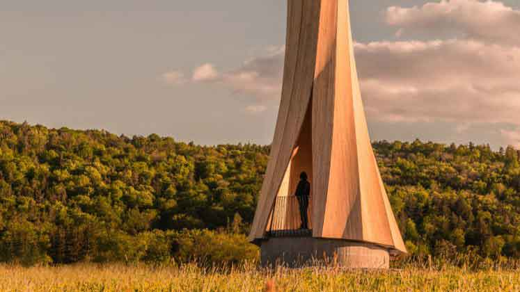 башня urbach в Германии