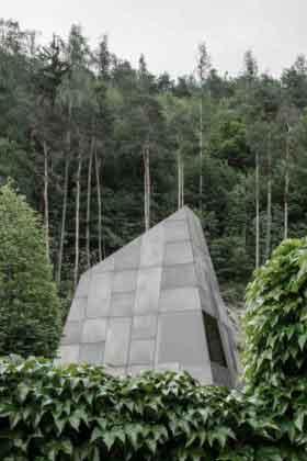 Винный погреб в лесу