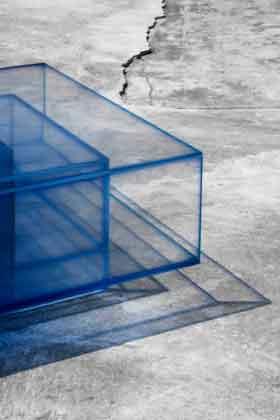 стеклянный стол из коллекции buzao NULL